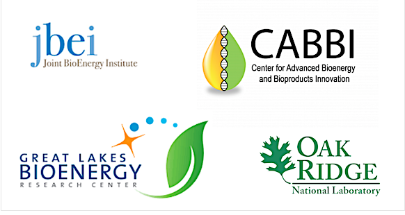 Bioenergy Research Centers Logos