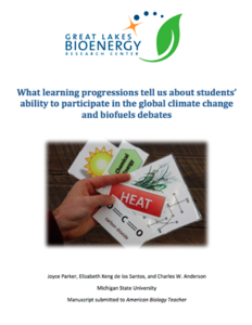 Learning Progressions White Paper